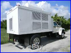 1995 Ford F700 F750 200 Kw 3 Phase Caterpillar Generator Utility Service Truck
