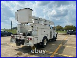 2006 Ford F750 Bucket Boom Truck Versalift 55' Insulated A/C Service Utility DSL