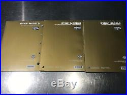2017 Harley Davidson Dyna Motorcycle Service Manual, Electrical Diag, Parts Cat