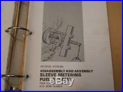 CATERPILLAR D7F TRACTOR with 3306 VEHICULAR ENGINE Service Manual & Parts Book