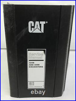 CAT Caterpillar 325D 329D Excavator Repair Shop Service Manual Operator CRAWLER