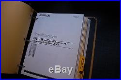 CAT Caterpillar M318 Excavator Repair Shop Service Manual wheel maintenance book