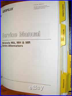CAT Caterpillar TESTING & ADJUSTING ELECTRICAL COMPONENTS SERVICE MANUAL GUIDE