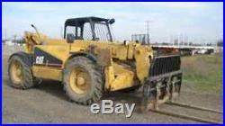 CAT Caterpillar TH62 TH63 TH82 TH83 SERVICE SHOP MANUAL CD TELEHANDLER FORKLIFT