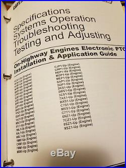 CAT Service Manual C-7 On Highway Engine YPG1-Up KAL1-Up SAP1-Up Repair Book EUC