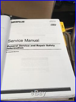 CAT service manual D8T Track-Type Tractor + Parts Manual LOT caterpillar
