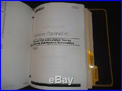 Cat Caterpillar 725 730 Articulated Dump Truck Service Repair Manual S/n Afx Agf