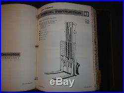 Cat Caterpillar 850s T180 T220 T225 950s T250 T300 T400 Forklift Service Manual