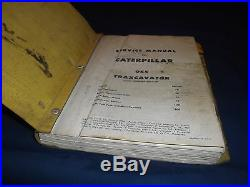 Cat Caterpillar 955 Traxcavator Loader Service Shop Repair Manual S/n 60a1-up