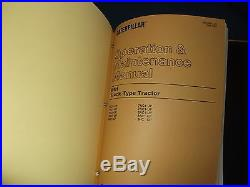 Cat Caterpillar D5h Series I & II Tractor Dozer Service Shop Repair Book Manual