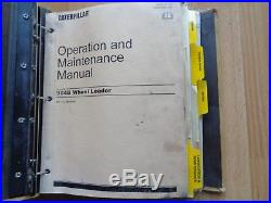 Caterpillar 304B compact wheel loader factory service & operation manual B4L1
