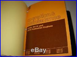 Caterpillar 3508 3512 3516 Generator Set Engine Service Manual, s/n's listed