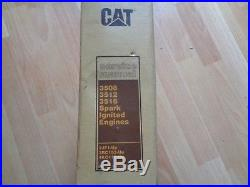 Caterpillar 3508 3512 3516 spark ignited engines service manual OEM 2JF 3RC 4KC