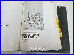 Caterpillar 637D Wheel Tractor Scraper Disassembly & Assembly Service Manual