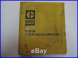 Caterpillar 951B Traxcavator 32F 69H 86J Service Manual USED STAINED OEM DEAL