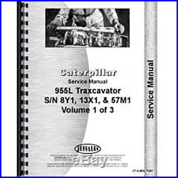 Caterpillar 955L Traxcavator Service Manual (New) (8Y1+, 13X1+ and 57M1+)