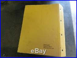 Caterpillar CAT 963C Track Type Loader Service Manual BBD1-Up