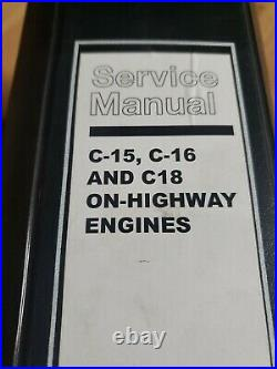 Caterpillar C-15 C-16 C-18 On Highway Engine Factory service manual