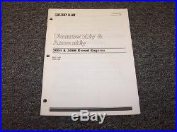 Caterpillar Cat 3066 Diesel Engine Disassembly & Assembly Service Repair Manual