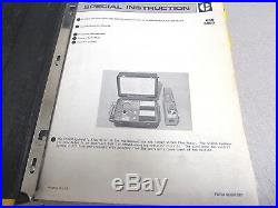 Caterpillar Cat 5P3600 Hydraulic Flow Meter Service Manual Special Instruction