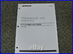 Caterpillar Cat C15 On-Highway Engine Disassembly & Assembly Service Manual