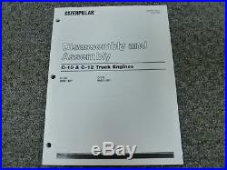 Caterpillar Cat C-10 & C-12 Truck Engine Disassembly & Assembly Service Manual
