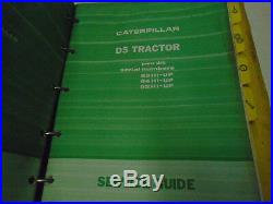 Caterpillar D5 Tractor 81H 82H 83H 34H Service Guide Manual BINDER STAINS WORN