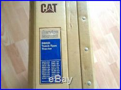 Caterpillar D6R III Track Tractor factory service manual OEM