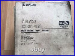 Caterpillar D6R Track Type Tractor factory service & Parts manual OEM