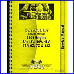 Service Manual For Caterpillar 3304 Engine (Diesel)