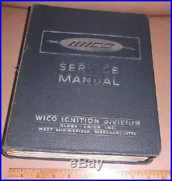 Wico Ignition Service Manual engine motor tractors caterpillar case deere parts